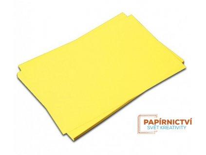 Kreslící karton A4,225g / žlutý