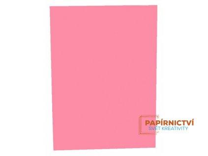 Kreslící karton A4,225g / růžový