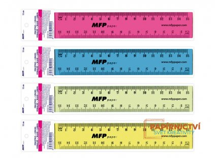 Pravítko 150 mm COLOURS