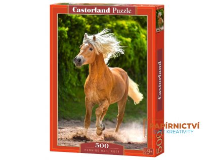 running haflinger jigsaw puzzle 500 pieces.65894 2.fs