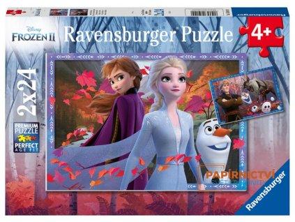Puzzle Disney Ledové království 2 2x24 dílků