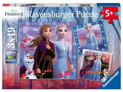 Puzzle Disney Ledové království 2 3x49 dílků