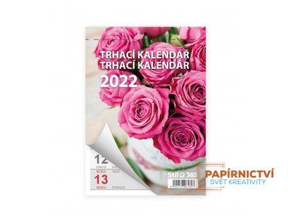Kalendář nástěnný 2022 KLASIK Trhací A6