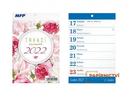 Kalendář 2022 A6 Trhací