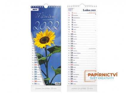 Kalendář 2022 nástěnný Měsíční - vázankový