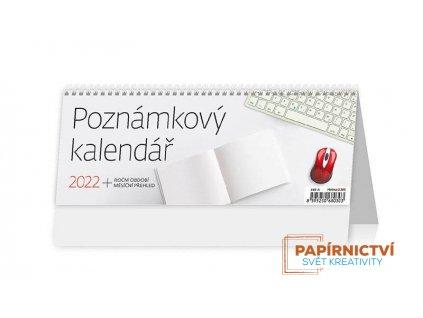Stolní kalendář 2022 - Poznámkový