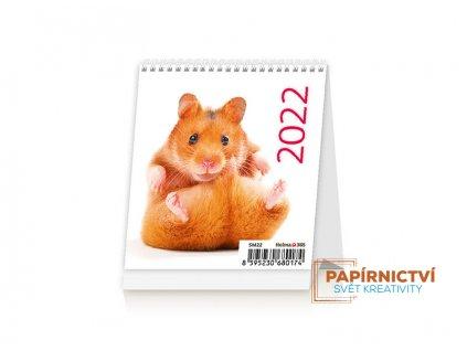 Stolní kalendář 2022 - Mini Pets