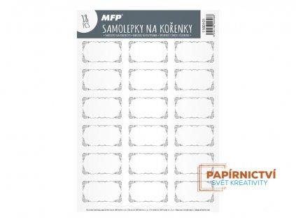 Samolepky na kořenky MFP 1