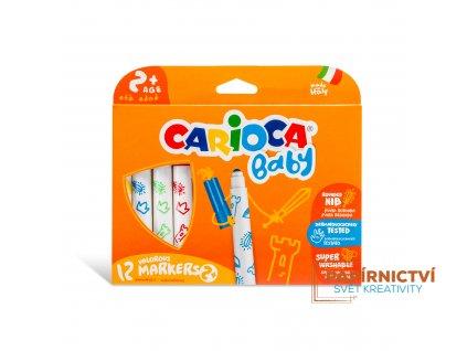 Fixy CARIOCA Baby 12 barev