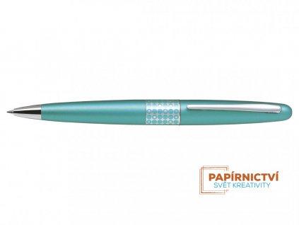 Kuličkové pero Pilot MR Retro Pop Collection -Metalická světle modrá