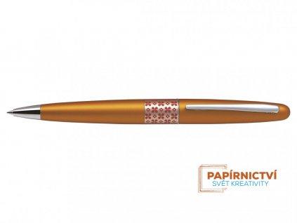 Kuličkové pero Pilot MR Retro Pop Collection -Metalická oranžová