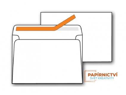 Obálky C6 samolepicí s krycí páskou