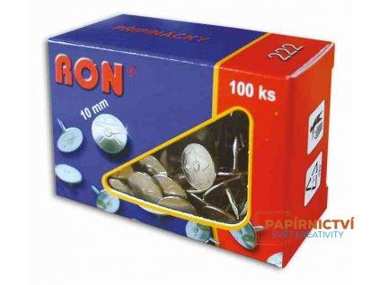 Připínáčky RON 10mm/100ks typ 222