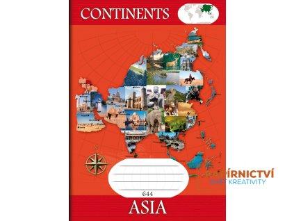 644 Kontinenty ASIA