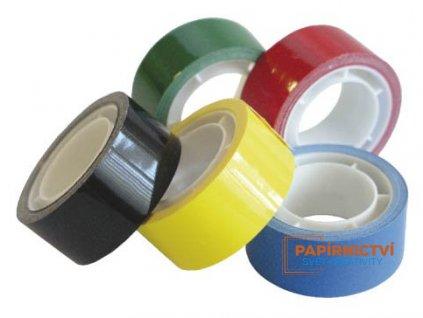 Lepící páska polypropylenová 15mm/10m bílá
