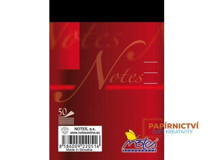 17054 4b NOTES cerveny
