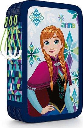 Školní penál třípatrový Frozen