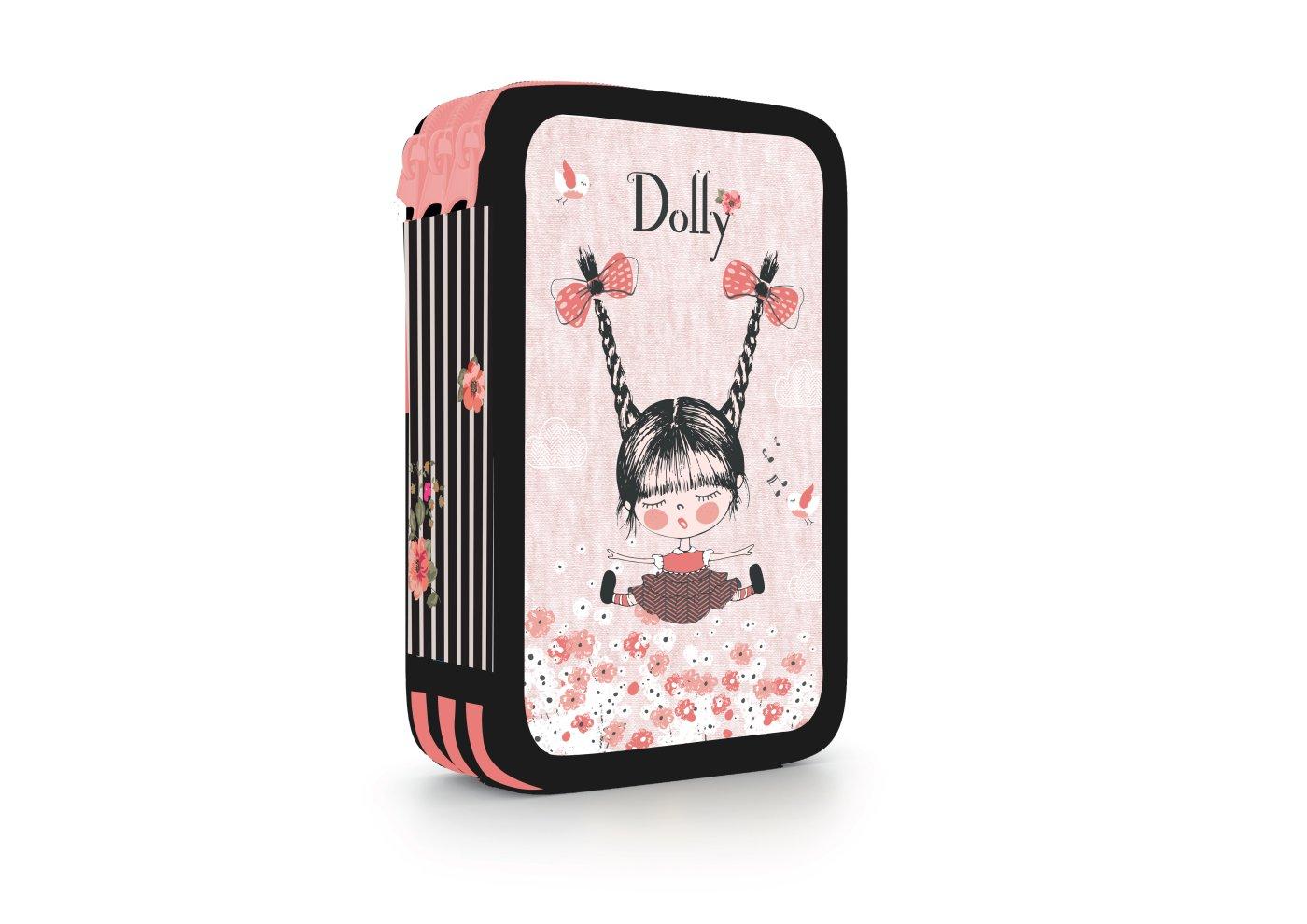 Školní penál třípatrový Dolly