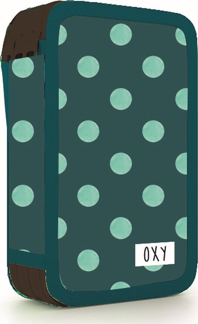 Školní penál třípatrový OXY Dots