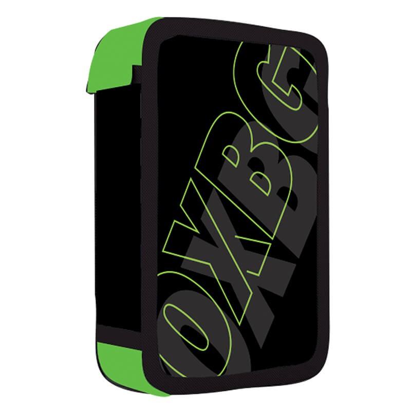 Školní penál třípatrový OXY BLACK LINE Green