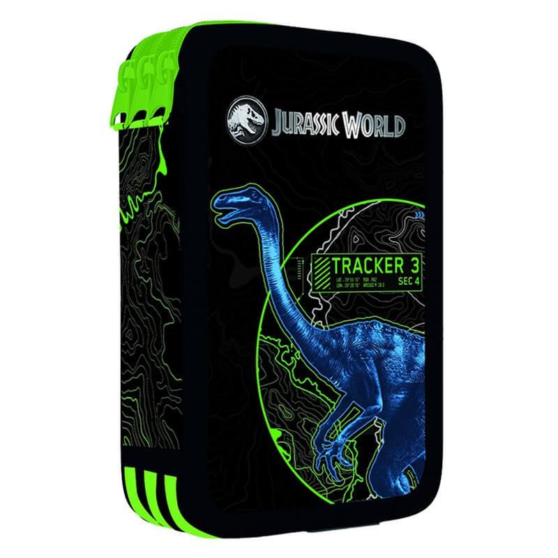 Školní penál třípatrový Jurassic World 2