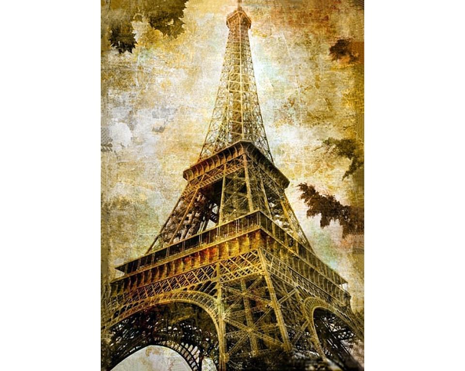 Diamantové malování 27x38cm PAŘÍŽ