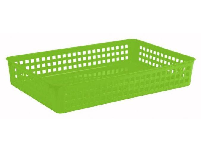 Košík plastový do lavice 37 x 25 x 6,4 cm