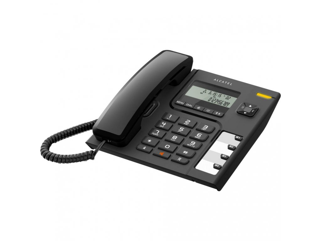 Telefon Alcatel Temporis 56 - černá