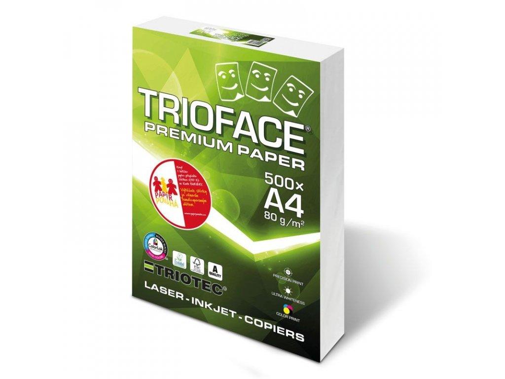 "Xerografický papír TRIOFACE PREMIUM ""A"" - A4 80 g / 500 listů"