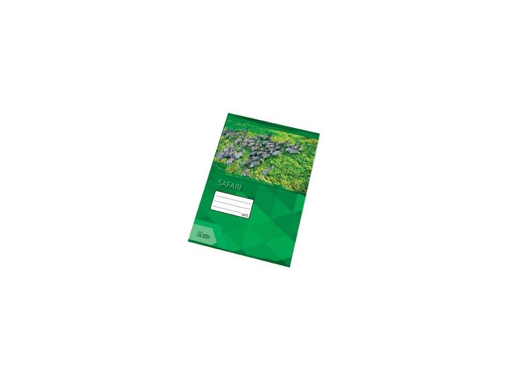 Sešity školní PREMIUM 40 listů - A4 / čtvereček