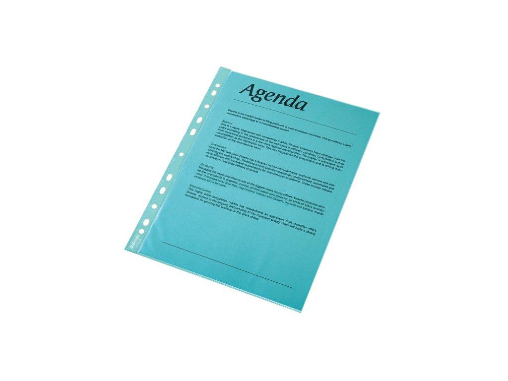 Závěsný obal A4 Copy barevný - A4 / modrá / 10 ks