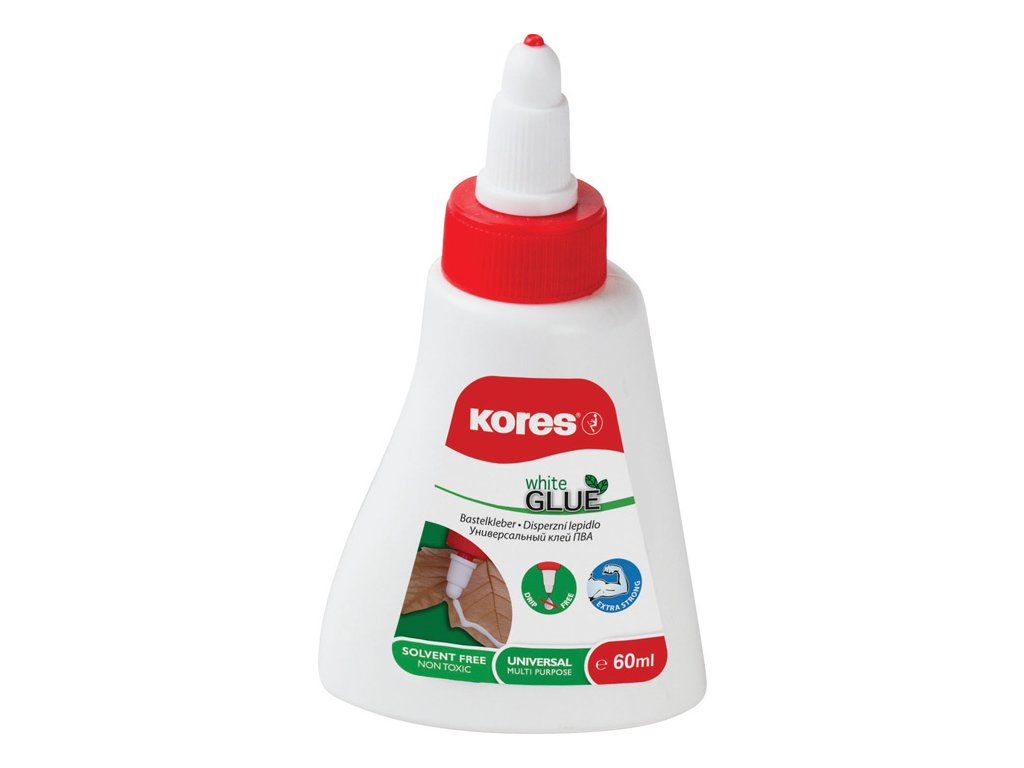 Lepidlo Kores White Glue - 60 ml