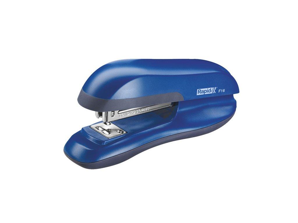 Kancelářský sešívač Rapid F16 - modrá