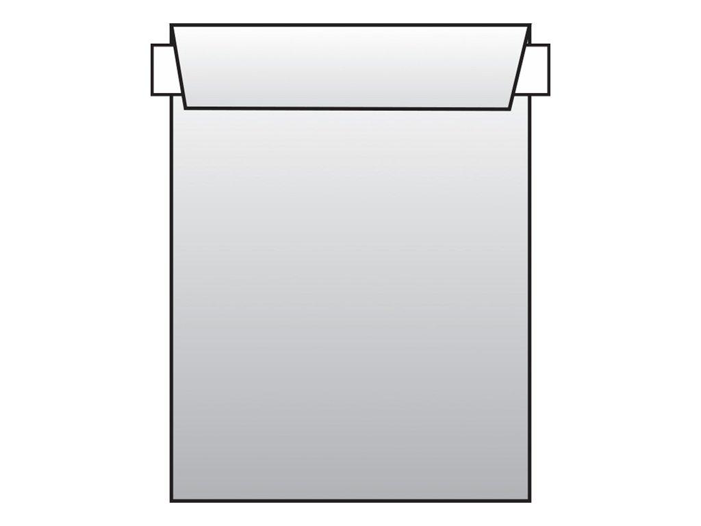 Obchodní tašky C5 samolepicí - 500 ks