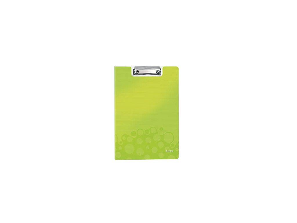 Dvojdeska A4 s klipem Leitz WOW - zelená