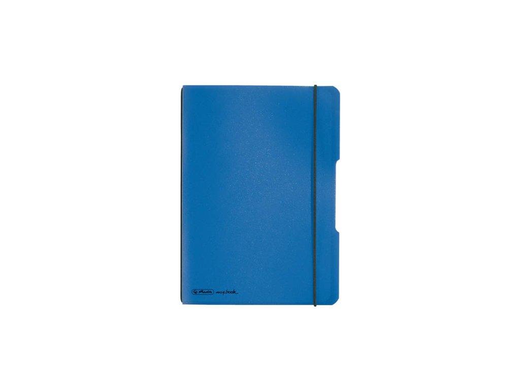 Sešit my.book flex - A5 / baltická modrá / 40 listů / čtvereček