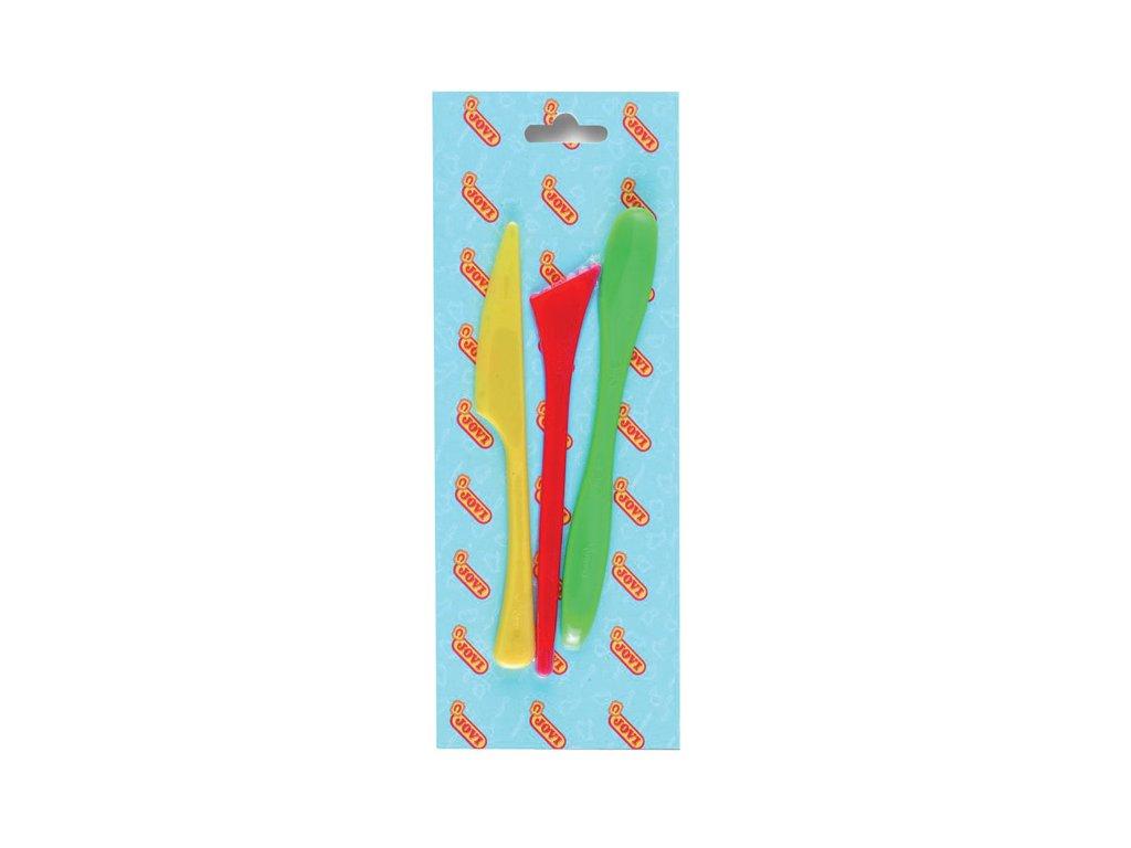 Pomůcky na modelování JOVI - modelovací nože / 3 ks