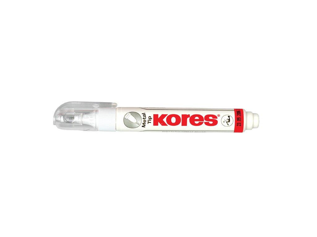 Opravná pera Kores - 10 g - Metal tip