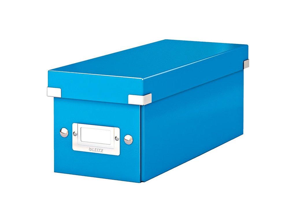 Krabice Leitz Click & Store - na CD / modrá