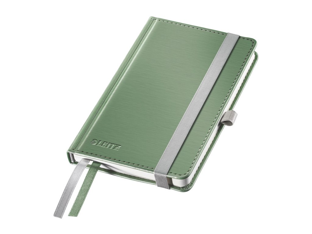 Kniha záznamní Leitz Style - A5 / zelenkavá