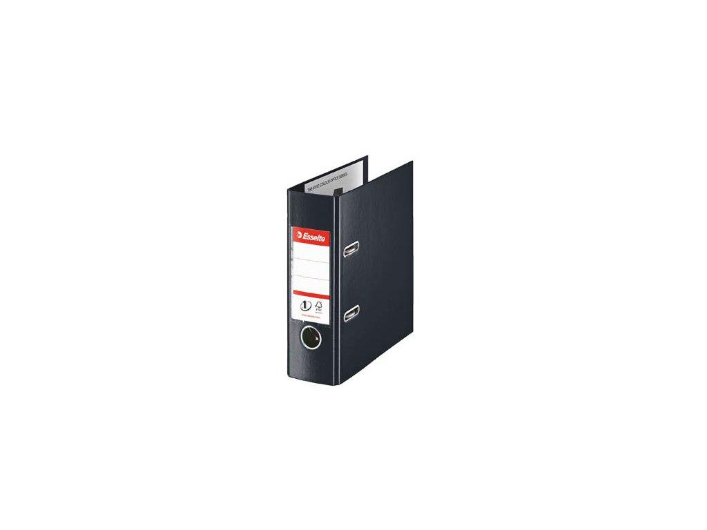 Pořadač pákový celoplastový Vivida PLUS - A5 / hřbet 7,5 cm / černá