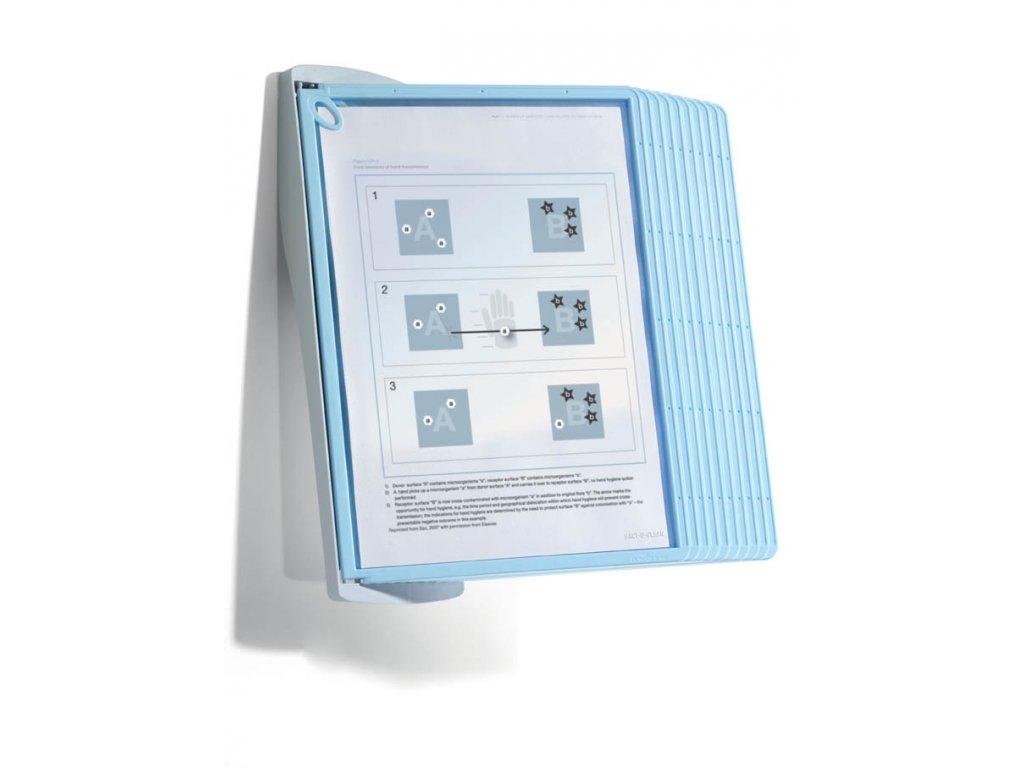 SHERPA BACT-O-CLEAN WALL 10 - šedo - světle modrá