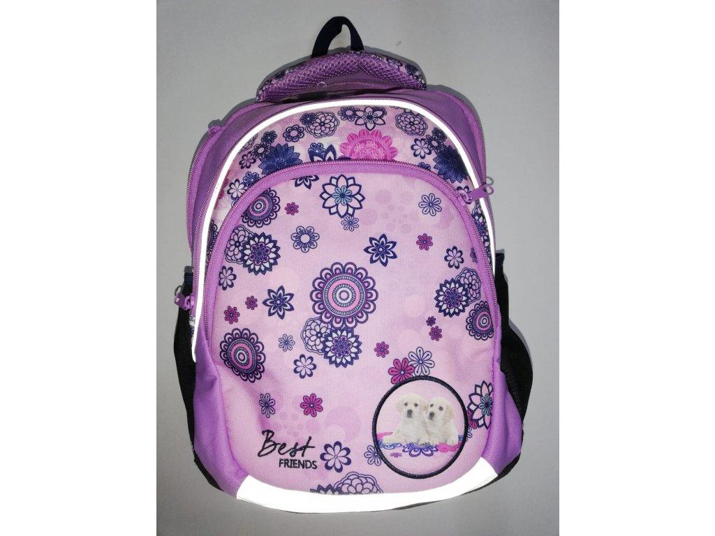 Školní batoh Fialový