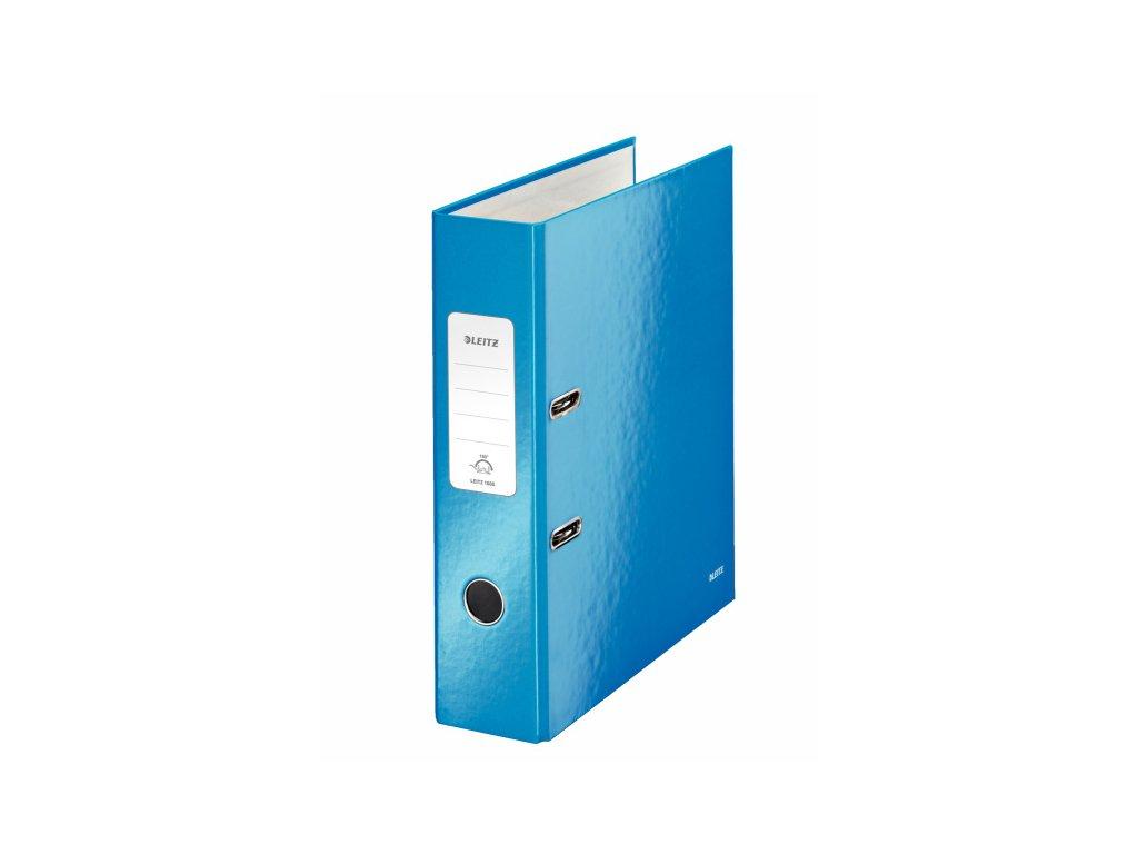 Pořadač A4 pákový Leitz 180° WOW - hřbet 8 cm / modrá