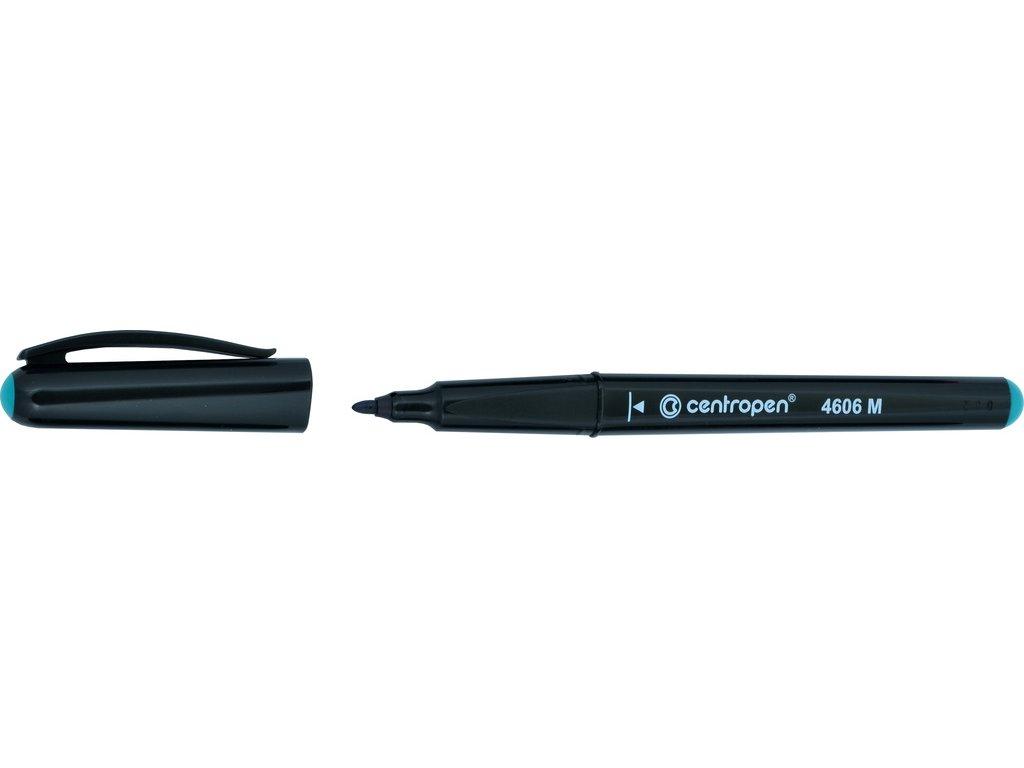 Popisovač Centropen CD / DVD / BD 4606 pen - zelená