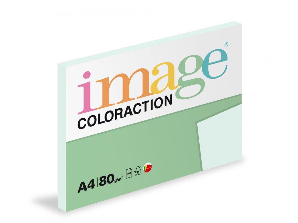 Xerografický papír BAREVNÝ - BL29 lagoon / pastelově světle modrá / 100 listů