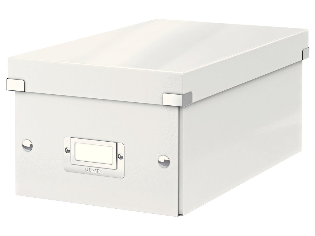 Krabice Leitz Click & Store - na DVD / bílá