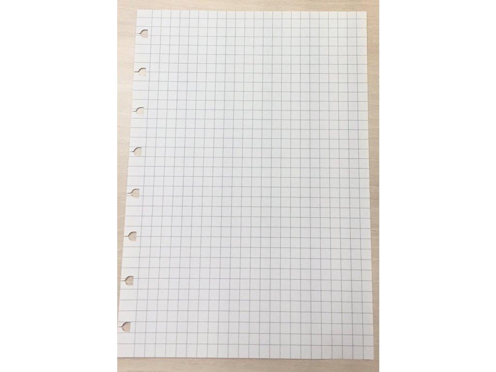 Náhradní listy Filofax Notebook - A5 / čtvereček
