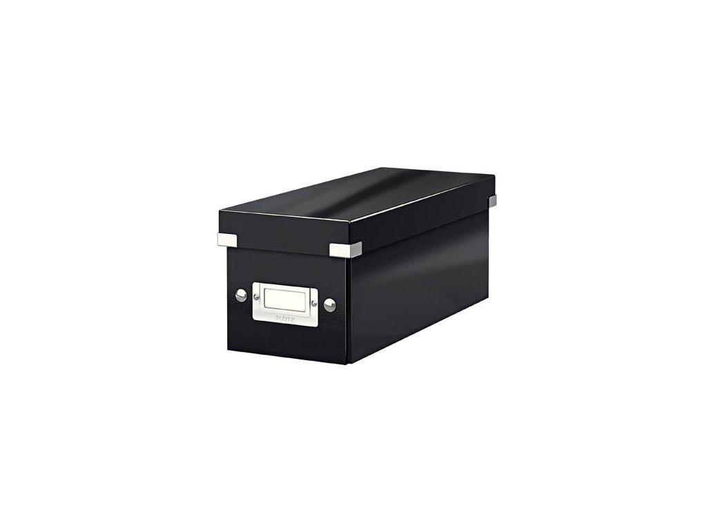 Krabice Leitz Click & Store - na CD / černá