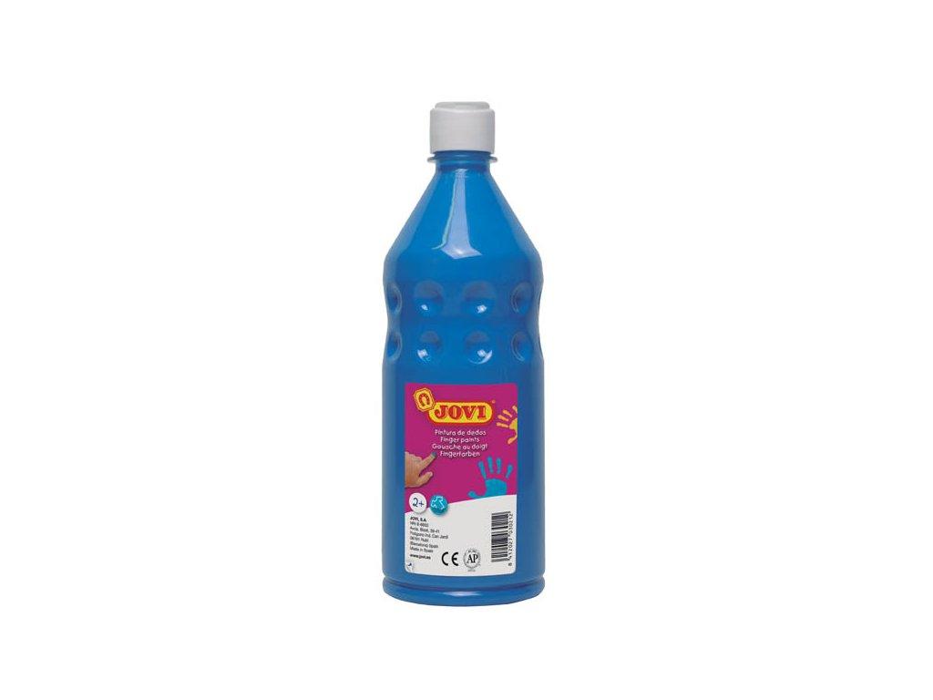 Prstové barvy JOVI v láhvi - 750 ml / modrá